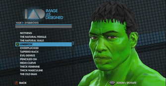Saints Row The Third Player Customization promo - Hulk face