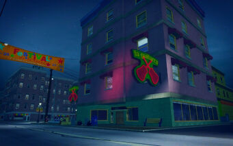 Southern Cross in Saints Row 2 - La guitarra