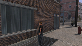 The Streets of Stilwater - view of corner to the east from prostitute location out of cutscene
