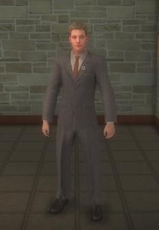 Dane Vogel - character model in Saints Row 2