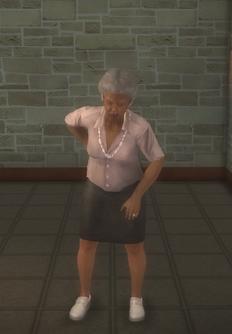 Elderly female - elderly female black - character model in Saints Row 2