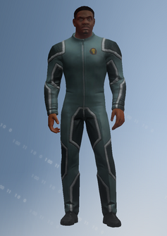 Keith - jumpsuit - character model in Saints Row IV