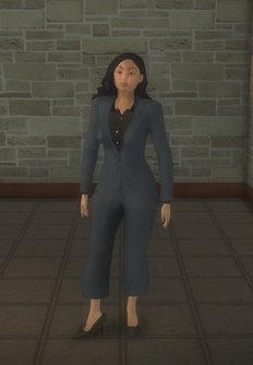 Business female - asian - character model in Saints Row 2