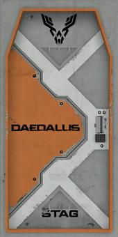 Daedalus stag door 1 d