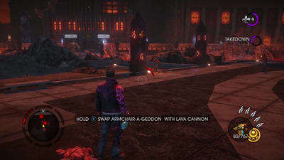 Gat out of Hell (Walkthrough video) 0038 Weapon - Lava Cannon