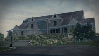 Price Mansion - front right in Saints Row 2