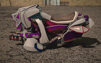 Saints Row IV variants - Xor Saints - left