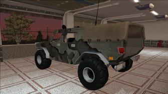 Saints Row variants - Bulldog - Military - rear left
