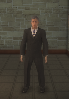 Talk show host 1 - character model in Saints Row 2