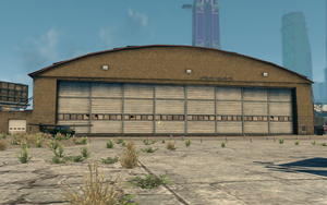 Airplane Hangar in Saints Row The Third
