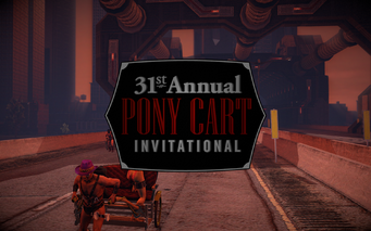 At the Races - 31st Annual Pony Cart invitational logo