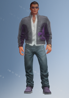 Johnny Gat - character model in Saints Row IV