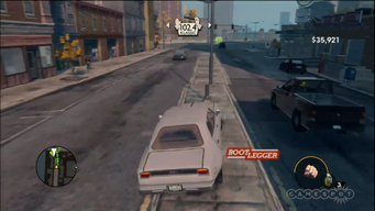 Bootlegger in a Saints Row The Third trailer