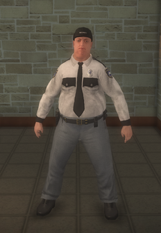 Cop - security white male - character model in Saints Row 2
