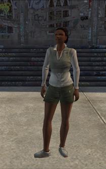 Generic black female - b4 - character model in Saints Row