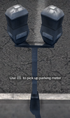 Improvised Weapon - double parking meter