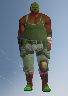 Luchador - Reggie - character model in Saints Row IV