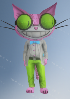 Mascot01 - Professor Genki - character model in Saints Row IV