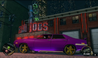 Rim Jobs - sign in Saints Row The Third