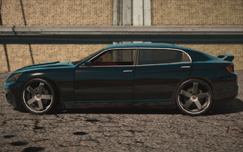 Saints Row IV variants - Blade limo - left