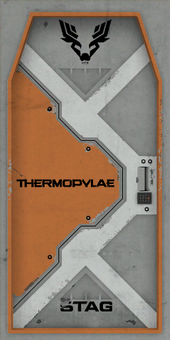 Thermopylae - STAG door texture