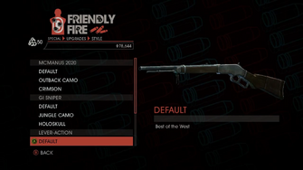Weapon - Special - Sniper Rifle - Lever-Action - Default