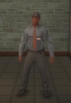 Cop - goon black male - character model in Saints Row 2