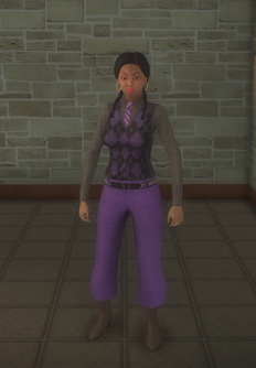 Gang Customization - Prephop - female lieutenant - hispanic