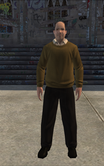 MiddleAge male 03 - white - character model in Saints Row