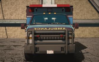 Saints Row IV variants - Ambulance Average - front