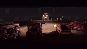 Showdown - Playa surrounded by Brotherhood