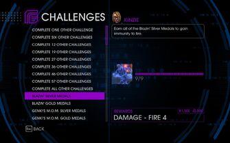 Challenge 10 Blazin' Silver Medals