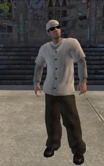 Columbians-01 - WhiteLongShirts - character model in Saints Row