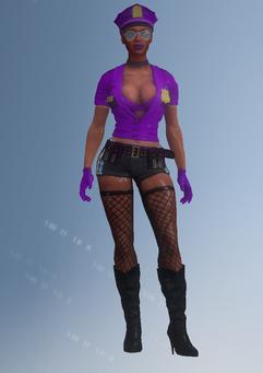 Gang Customization - Stripper 2 - Vera - in Saints Row IV