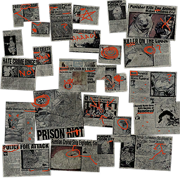 Kinzie's Warehouse - background newspaper clippings