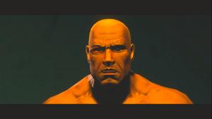 Murderbrawl XXXI - Killbane's face