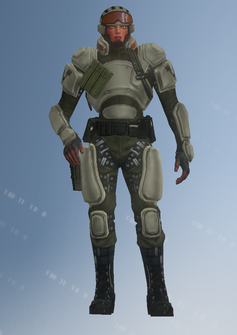 STAG - soldier - Tanya - character model in Saints Row IV