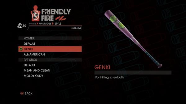 Weapon - Melee - Baseball Bat - Homer - Genki