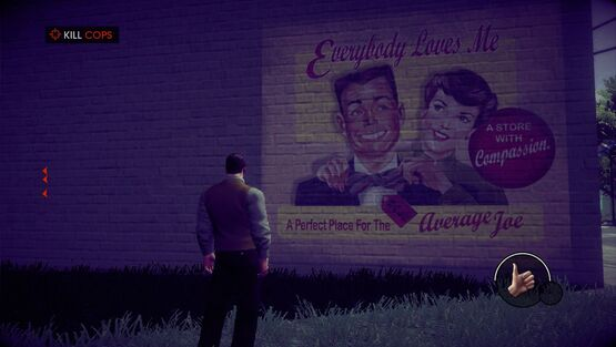 A Pleasant Day - Everybody Loves Me sign