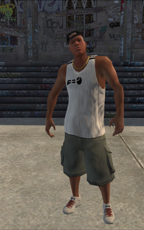 Drug Trafficking - Marvin - character model in Saints Row