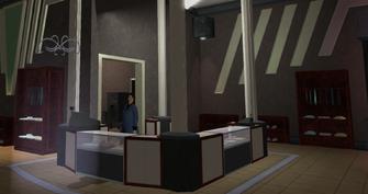 Impressions - Nob Hill - interior desk in Saints Row