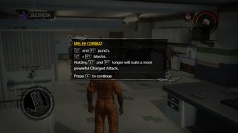 Jailbreak - melee combat controls tutorial