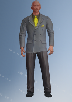 Kazuo - character model in Saints Row IV