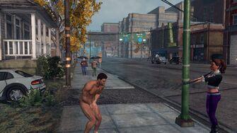 Naked Male Playa Saints Row The Third