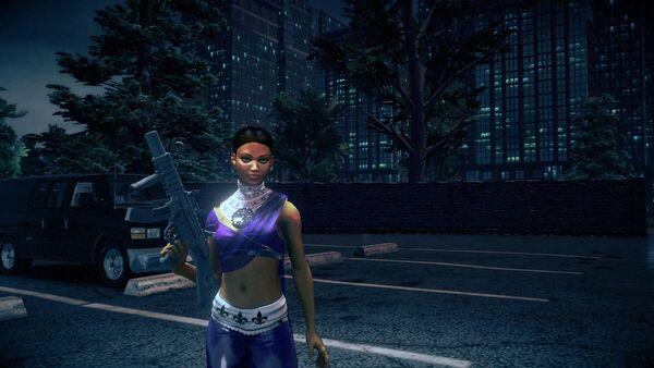 Asha Odekar with Super Powers as a Homie