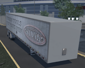 Box trailer - Stonk variant