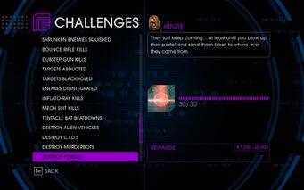 Challenge 56 Destroy Portals