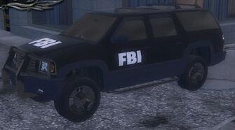 FBI - front left in garage in Saints Row 2