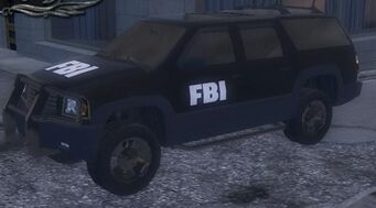 FBI - front left in garage in Saints Row 2