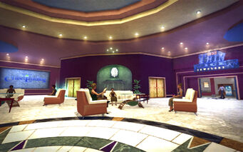 Huntersfield in Saints Row 2 - Hapton Hotel lobby
